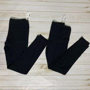 So by Kohl's Perfect Legging Black Medium 2 Pair